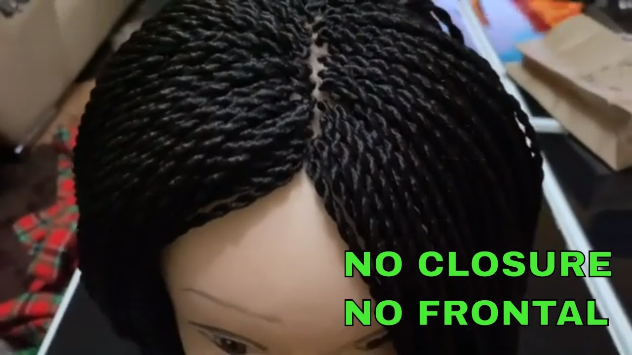 Download how to make a twist wig without lace frontal | braided wig tutorial