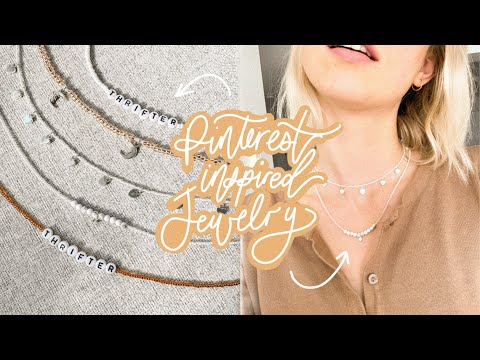 DIY Pinterest Inspired Jewelry | featuring benson (i made him one too) YouTube