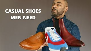 10 Casual Shoes Every Man Need…