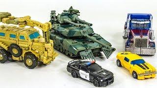 Transformers Movie Optimus Prime Bumblebee Barricade Bonecrusher Brawl Vehicle Car Robot Toys
