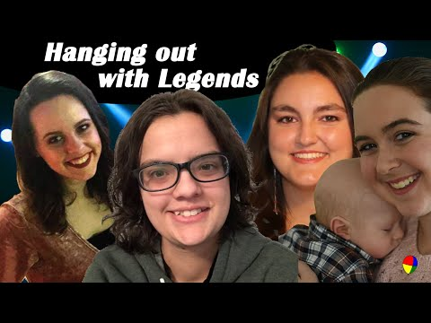 Hanging out with Legends