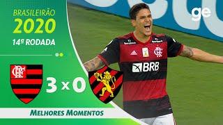 FLAMENGO 3 X 0 SPORT | MELHORES MOMENTOS | 14ª RODADA BRASILEIRÃO 2020 | ge.globo