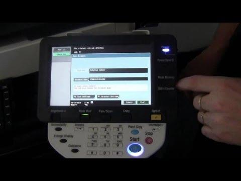 Konica Minolta bizhub C220/C280/C360 error code reset