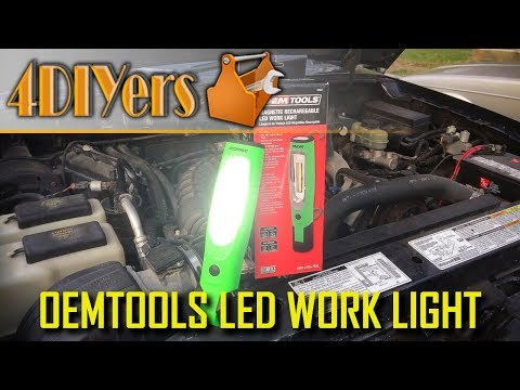 Review: OEMTOOLS 25982 LED Work Light