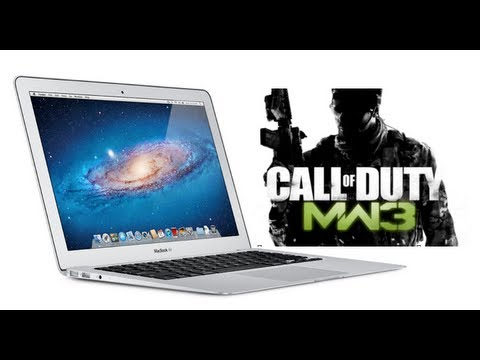 Modern Warfare 3 on Macbook Air - Demo / Gameplay (Multiplayer)
