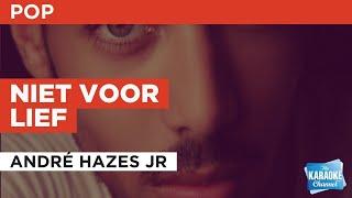 Niet voor lief : André Hazes jr   Karaoke with Lyrics