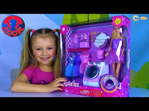 Куклы: БАРБИ делает уборку. Видео для девочек. КЕН в