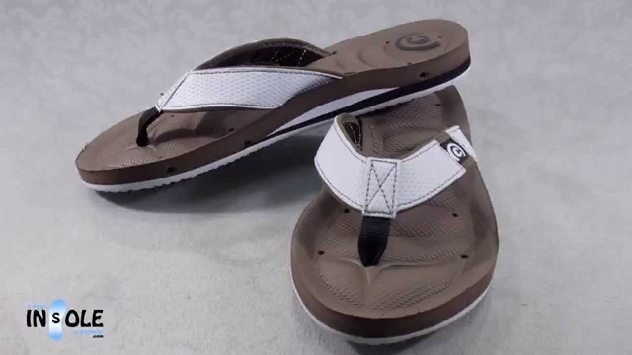 84fadb7a9bd Cobian Draino White Sandals For Men  TheInsoleStore.com - YouTube