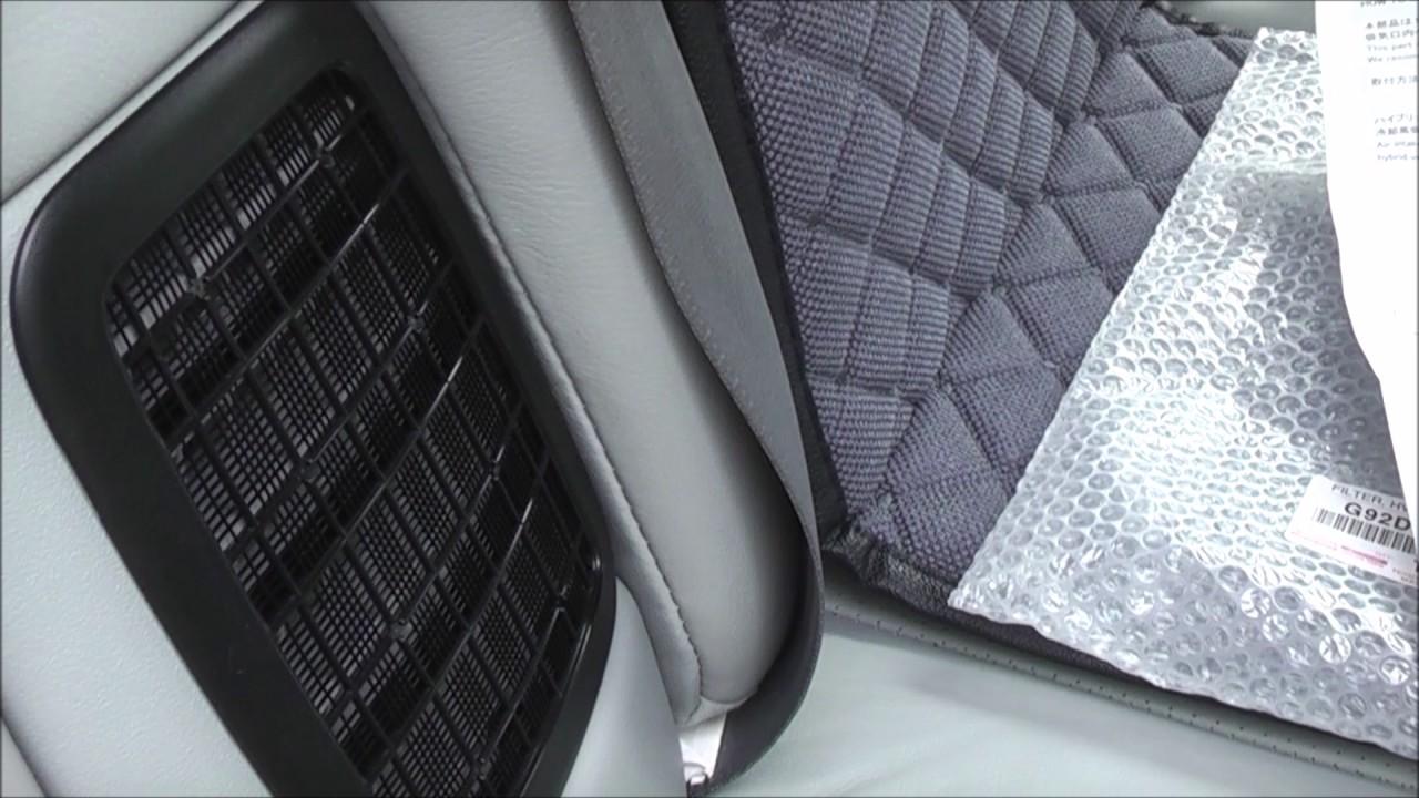 Toyota Prius 30 Hv Battery Fan Clean Filter   U0424 U0438 U043b U044c U0442 U0440  U0434 U043b U044f  U0412 U0412 U0411