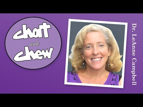 Livestream Skype with Dr. LeAnne Campbell and Chat and Chew