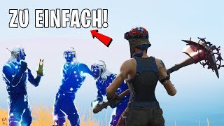 I tried to get into a GALAXY SKIN clan with RENEGADE RAIDER and that happened..! (Fortnite)