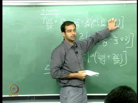 Mod-01 Lec-04 Momentum and Energy Equations