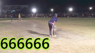 Arslan Achii Butt 100 Runs on Just 25 balls Included 12 Six 666666