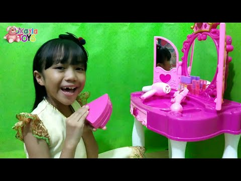 "Mainan Anak Glamour Mirror "" Meja Rias Anak - anak - Kayla """