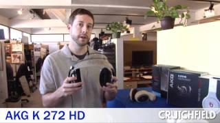 aKG K 272 HD  High-definition Stereo Headphones Review  Crutchfield Video