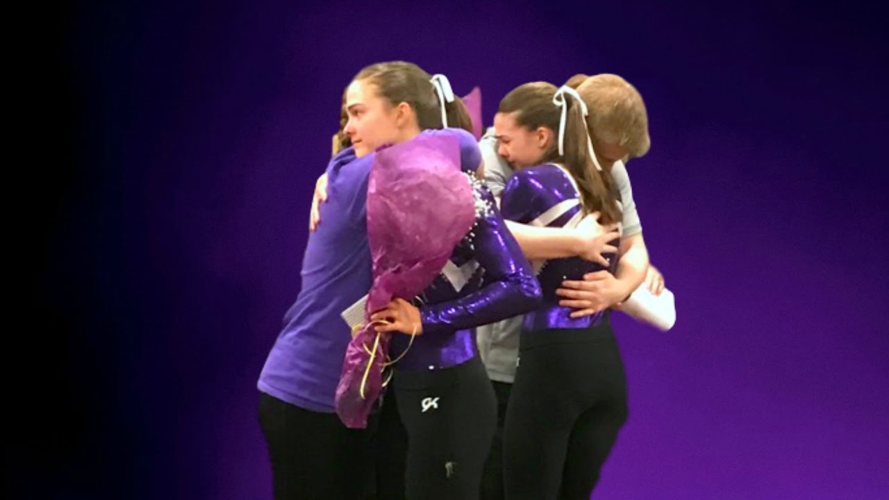 Megan and Ciera's Last Gymnastics Meet EVER!