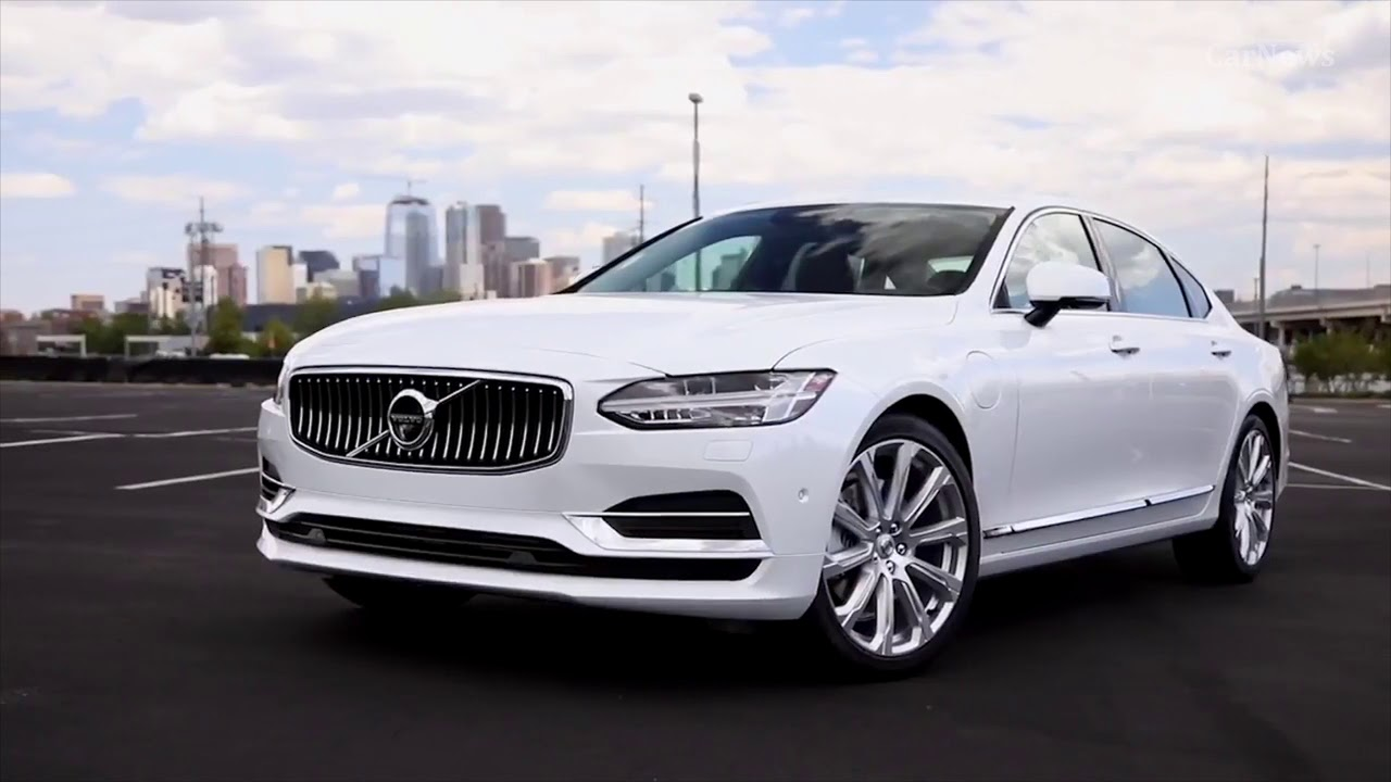 2018 volvo s90 interior exterior drive ready to fight s class carnews youtube