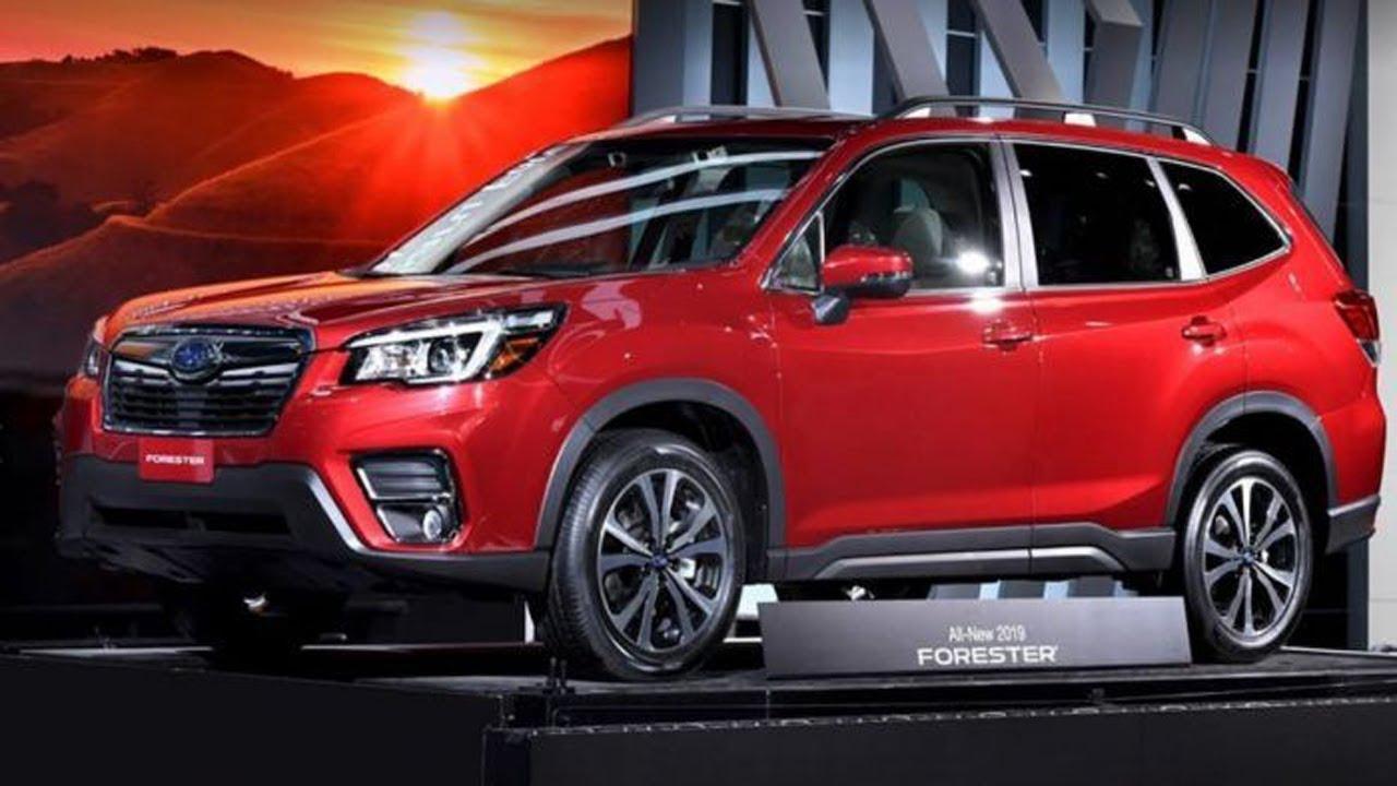 Subaru Announces New China Spec 2019 Forester Hybrid