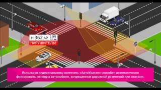 Видеоаналитика комплекса АвтоУраган