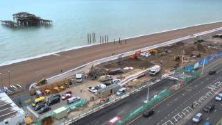 Brighton i360 progress time-lapse
