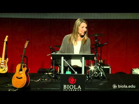 Kathleen Doyle: Trust No One, Love Everyone, Be A Peacemaker - Biola University Chapel