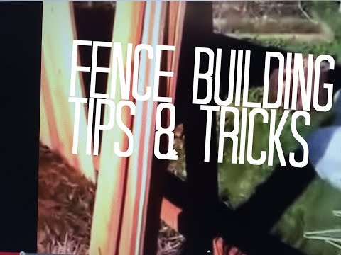 Build Wood Fence DIY, Treated Posts No Sag Rails, Cedar Wooden Pickets