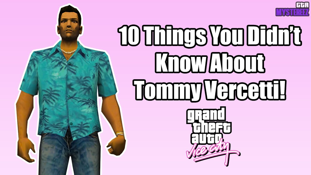 Download 10 Things You Didn't Know About Tommy Vercetti! | GTA Vice City