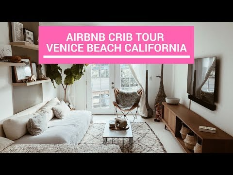 Airbnb Crib Tour - Venice Beach CA