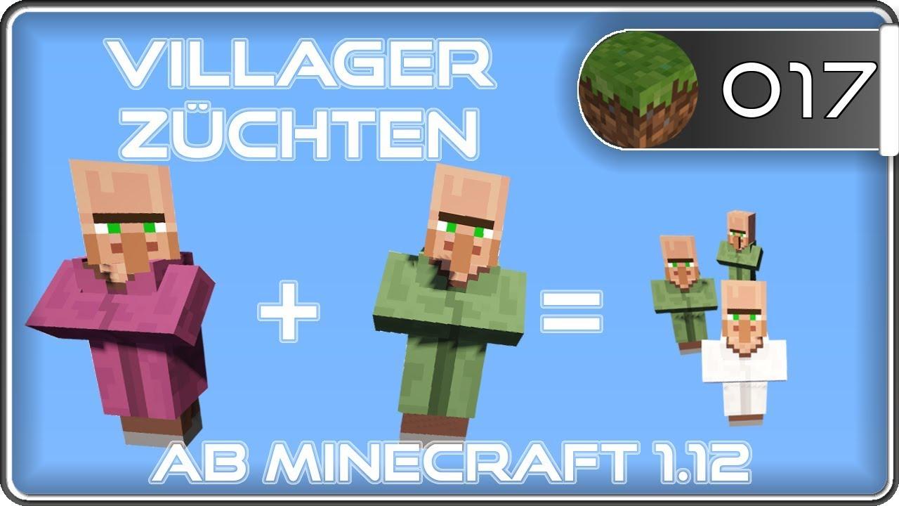 Minecraft Breed Villager Dorfbewohner Züchten NPC Farm - Minecraft dorfbewohner bauen hauser mod