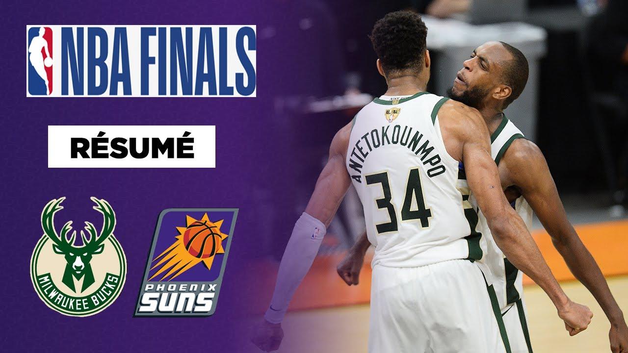 Download RESUME VF NBA FINALS : Milwaukee remporte le Game 5 en fin de match et se rapproche du titre !