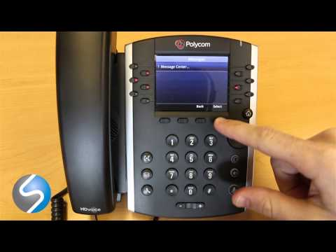 Polycom VVX 400 Voicemail