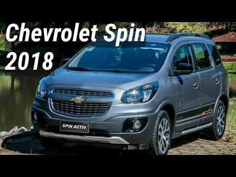 Nova Chevrolet Spin 2018 Novidades Preos E Verses Top Sounds