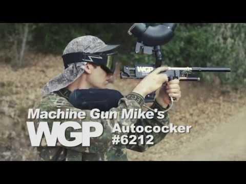 Machine Gun Mike's Ironmen Autococker Paintball Gun C. 1991