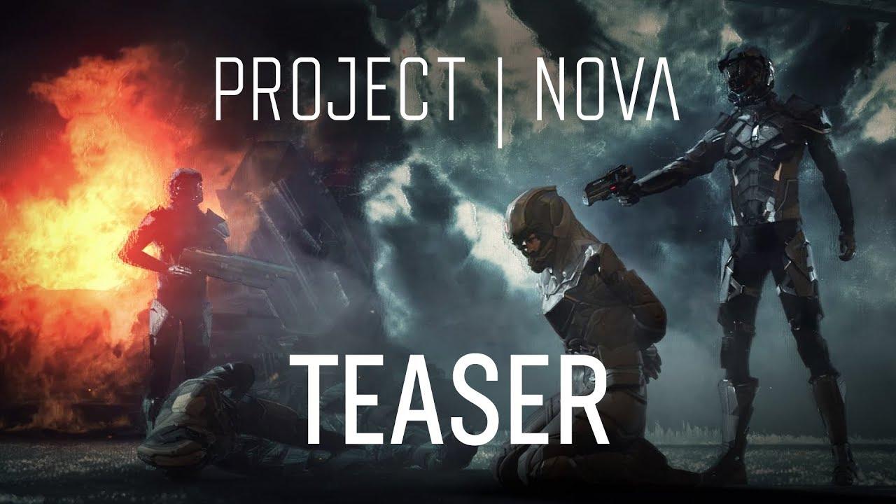 Посмотрите первый геймплей шутера Project Nova, сюжет которого разворачивается во вселенной EVE Online