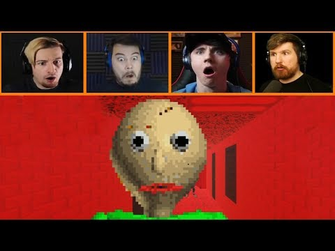 Let's Players Reaction To Getting Out While They Still Can | Baldi's Basics
