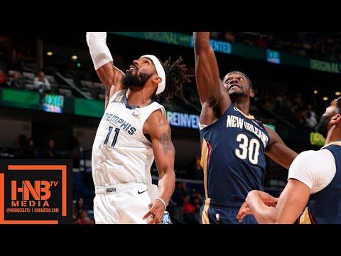 Memphis Grizzlies vs New Orleans Pelicans Full Game Highlights | 12.07.2018, NBA Season
