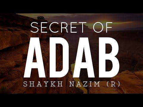 Secret Of Adab - Shaykh Nazim Haqqani (R) | #Saint