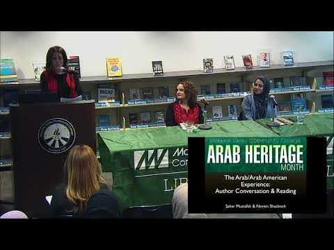 The Arab/Arab American Experience:  Featuring Authors Sahar Mustafah and Nevien Shaabneh