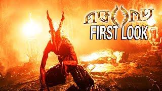 FIRST LOOK: EPIC DOOM MEETS AMNESIA SIMULATOR | Agony Gameplay