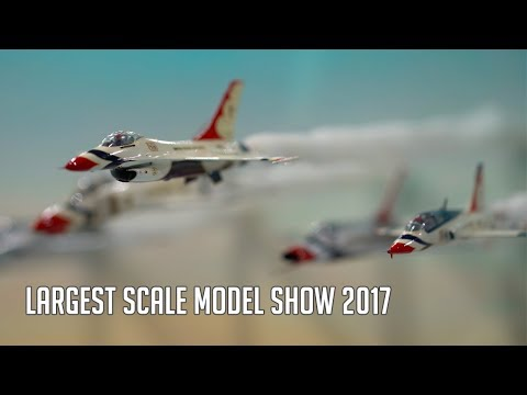 Scale Model Show the Worlds Largest Telford 2017