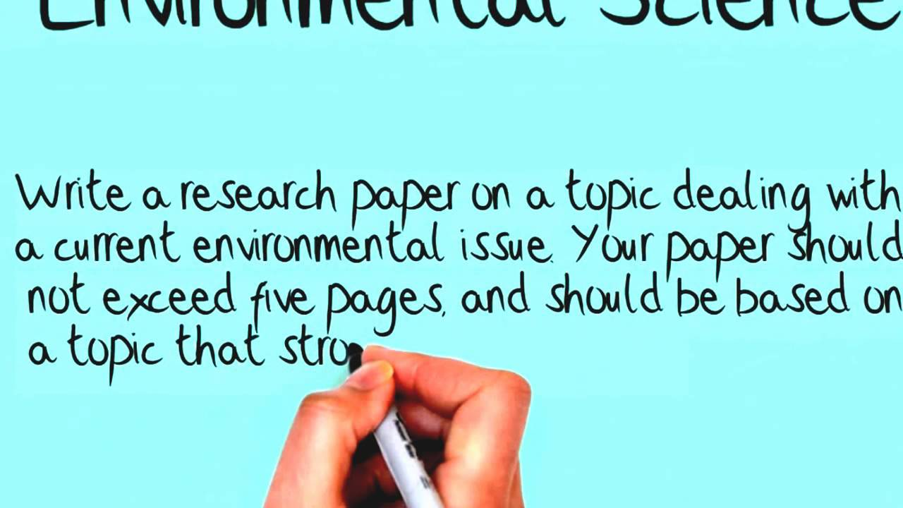 steps in developing a research paper