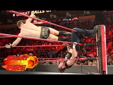 Dean Ambrose vs. The Miz - Intercontinental Title Match: WWE Great Balls of Fire 2017