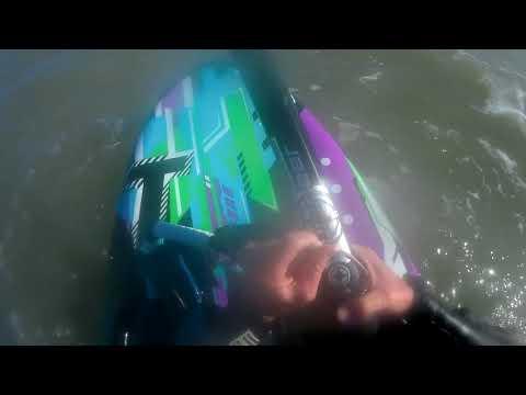 Mast break valdelagrana 06-01-2018 raw footage