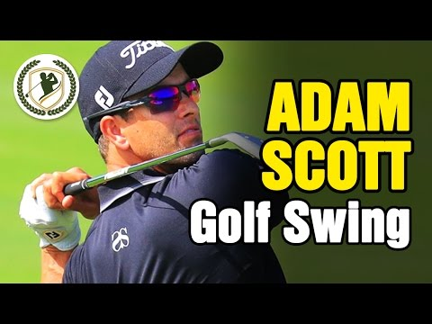 ADAM SCOTT – PGA GOLF SWING SLOW MOTION ANALYSIS