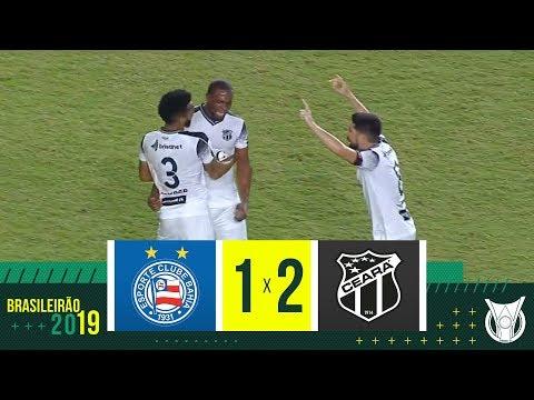 BAHIA 1 X 2 CEARÁ - Melhores Momentos - Brasileirão 2019 (21/10)