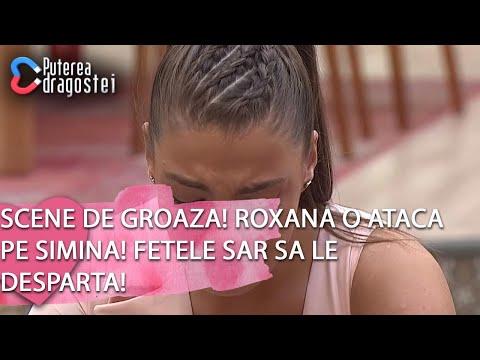 Puterea dragostei (26.02.) - Scene de groaza! Roxana o ataca pe Simina! Fetele sar sa le desparta!