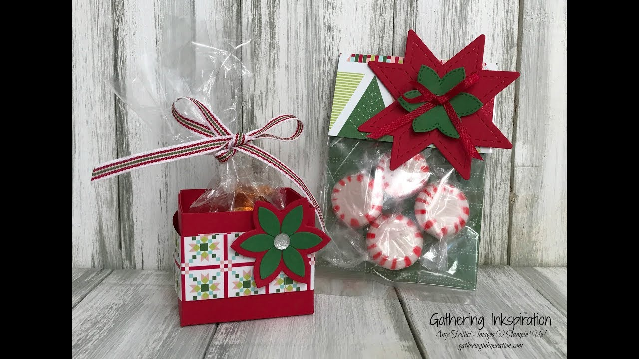 Quilted Christmas Treat & Gift Ideas - YouTube