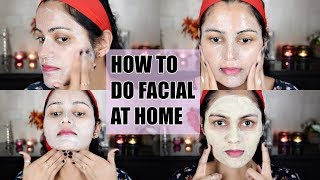 घर पर सीखें पार्लर से भी अच्छा फेशियल How To Do FACIAL At Home Step By Step| LOTUS Gold Facial Cream