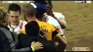 Mohamadolu Abdouraman második gólja a Szombathelyi Haladás - DVTK mérkőzésen