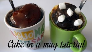 Cake In A Mug Tutorial | Princess Sunshine